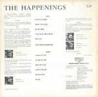 THE HAPPENINGS Bye-Bye, So Long, Farewell Vinyl Record LP Fontana 1966